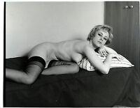 N15 NU NUDE ORIGINAL ARGENTIQUE PHOTO FOTO PARIS-HOLLYWOOD 18X24CM SERGE JACQUES