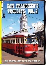 San Francisco's Trolleys Vol 2 DVD NEW Valhalla Video streetcars MUNI F-Line