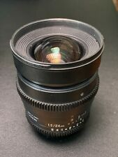 Rokinon 24mm cine for nikon T1.5