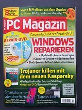 PC Magazin 10/2018  WINDOWS REPARIEREN + DVD ungelesen, 1A TOP Zustand