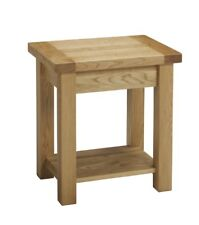 Natur Pur Bellicent Side Table with Storage, Oak