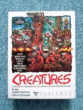 Commodore 64 juego de computadora de Cassette criaturas tálamo