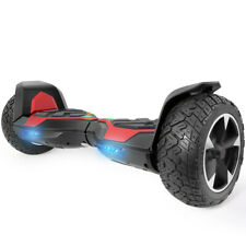 XtremepowerUS All Terrain 8.5 Inch Off-Road Self-Balancing Hoverboard, Red