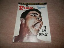 The Ring Boxing Magazine Cassius Clay Muhammad Ali Cover April 1964 Sonny Liston