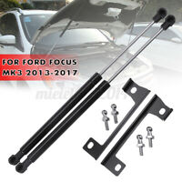 Pair Front Bonnet Hood Gas Strut Lifter Support Kit For Ford Focus Mk3  * +