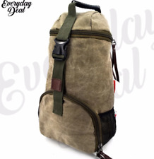 Everyday Deal Xander Canvas Sports Hiking Backpack (Armygreen)