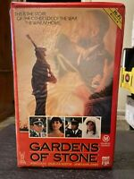 Gardens of Stone Ex-rental VHS video tape HTF on DVD Retro CBS FOX Clamshell War