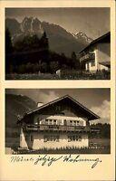 UNTERGRAINAU Wohnhaus Foto-AK ca. 1940/50 ungebraucht alte Postkarte Bayern