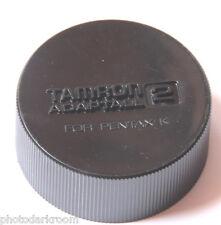 Tamron Adaptall 2 for Pentax K - Deep Plastic Rear Lens Cap - Japan - USED V862
