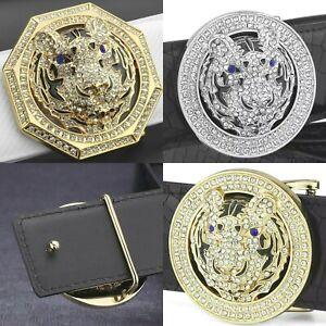 MENS DESIGNER BELT BUCKLES 3D DIAMOND COLLECTION FOR MEN 38MM BUCKLE NO BELT LTD