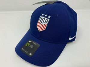 Nike USA Legacy91 Cap, Adjustable Fit - Navy Blue/Red/White, Unisex Adult Cap