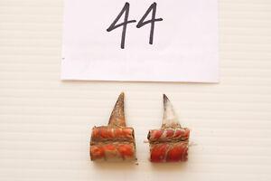 """1-1/8"""" SINGLE SPURS, EASTERN WILD TURKEY LOT OF TWO lot #44"""