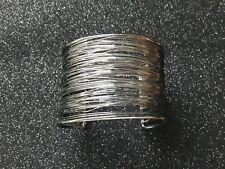 Brazalete de bisuteria con hilos NEGRO abalorios pulseras moda pulsera negra