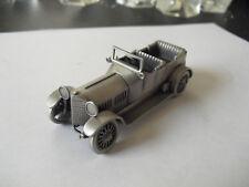 "Danbury Mint England Pewter Car 1912 Isotta Fraschini 3"" Long"
