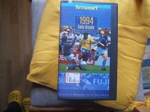VHS=ITALIA-BRASILE 2-3 DCR 1994=FINALE 6° COPPA DEL MONDO F.I.F.A=TUTTOSPORT=