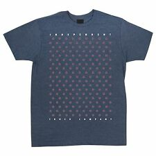 Independent Trucks Multi Cross Skateboard T Shirt Navy Heather Medium