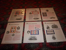 1982 USPS COMMEMORATIVE PANELS  [16] IN SLEEVES 2003 CATALOG VALUE $293.00