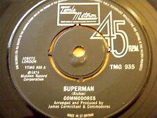 "COMMODORES - SUPERMAN  7"" VINYL"