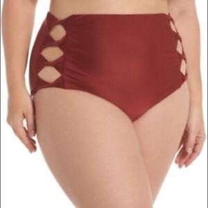 BCA High Waisted Bikini Bottom 0X
