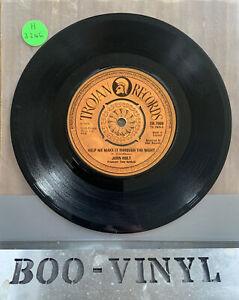 "John Holt – Help Me Make It Through The Night Vinyl 7"" Single TR. 7909 1974 EX+"