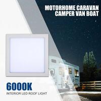 300mm*300mm Caravan Camper Motorhome Boat LED Roof Light Ceiling Light White 12V