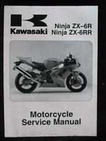 Kawasaki 1988 KX125 KX250 KX500 Original Factory Service Shop Repair Manual