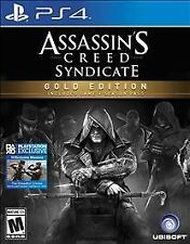 Assassin's Creed: Syndicate -- Gold Edition (Sony PlayStation 4, 2015)