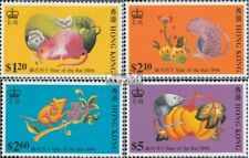 Hongkong 757-760 (compleet Kwestie) postfris MNH 1996 Chinees Jaar
