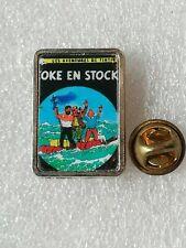 Pin's Pins Tintin et Milou bd Hergé comic strip coke en stock