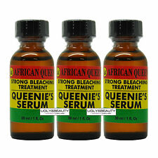 "African Queen Queenies Serum Strong Bleaching Treatement 30 ml ""Pack of 3"""