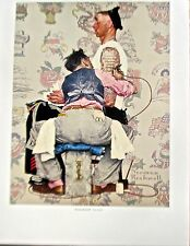 Norman Rockwell Tattoo Artist Offset Lithograph Unsigned 14x11