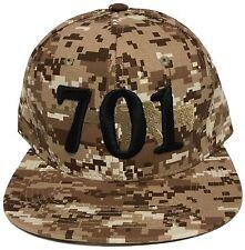 EL CHAPO GUZMAN 701 HAT DIGITAL KHAKI BROWN SNAPBACK ADJUSTABLE NEW HAT