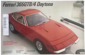Italeri Testors Ferrari 365GTB/4 Daytona Vintage 1990 1/24 Model Kit NEW 1968-72