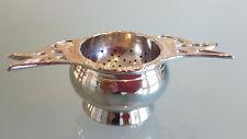PLATEDWARE TEA STRAINER, KOOKABURRA THEME IN PERFECT CONDITION. LOOK !