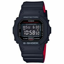 CRAZY DEAL NEW  G-SHOCK DW5600HR-1A BLACK/RED BAND MULTIFUNCTION DIGITAL WATCH