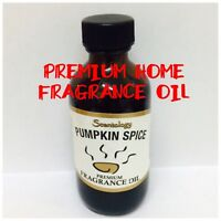 PUMPKIN SPICE ~ PREMIUM FRAGRANCE DIFFUSER WARMER ESSENTIAL OIL BIG 2OZ L@@K!