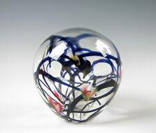 John Lotton Art Glass Hollow Sculpture or Paperweight  1984