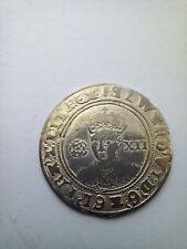 More details for edward vi hammered silver shilling coin