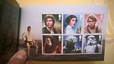 STAR WARS Francobolli Stamps Presentation Pack+Prestige book+Postcard Darth Maul