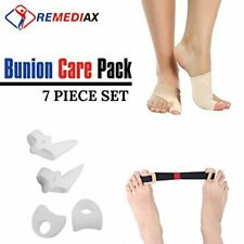 Remediax Bunion Corrector & Bunion Relief Protector Sleeves Kit - Foot Pain Reli