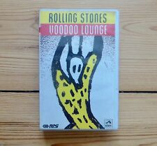 ROLLING STONES Voodoo Lounge, very rare Indian cassette tape