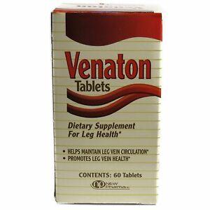 Venaton Tablets Dietary Supplement For Leg Health - 60 Tablets