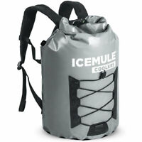IceMule Pro Large 23 Liter 18 Can Soft Insulated Waterproof Backpack Cooler Bag