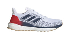 Adidas Solarboost 19 Running Shoes Boost Cushion EG2362 Red White Blue Mens 10.5