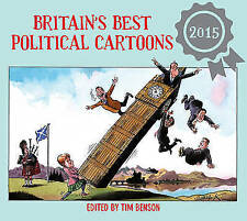 """AS NEW"" Details, No Author, Britain's Best Political Cartoons 2015 Book"