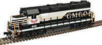 Gulf Mobile & Ohio GP-35 Diesel Locomotive Atlas Master Silver #40004273 N Scale