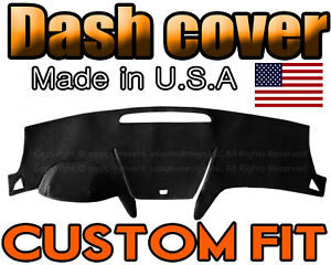 Fits 2009-2012  CHEVROLET TRAVERSE  DASH COVER MAT  DASHBOARD PAD / BLACK