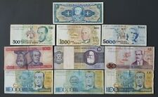 Brazil lot 10 circulated banknotes cruzeiro all different