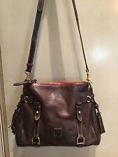 Dooney & Bourke Brown Leather Shoulder Bag - Preowned
