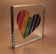 Spaceform Rainbow Heart  Romantic Love Gifts Ideas For Her & Him 1946